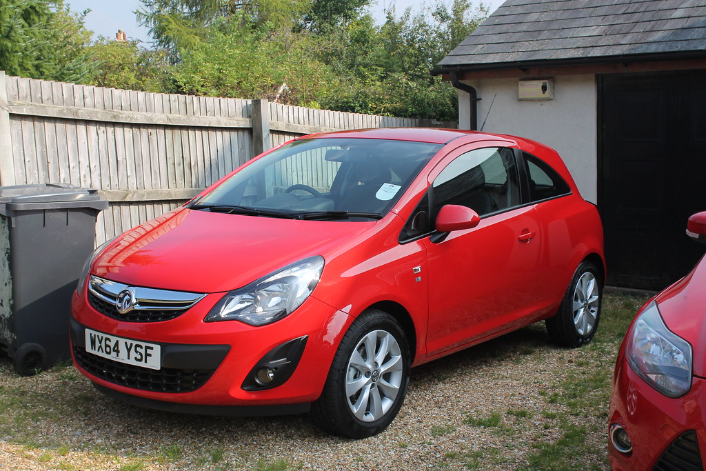 my new car 2014 vauxhall corsa 1 2 excite rather going ag flickr. Black Bedroom Furniture Sets. Home Design Ideas