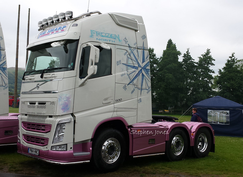 Joe Sharp Volvo Fh Pn14 Hnc Truckfest South West Amp Wales