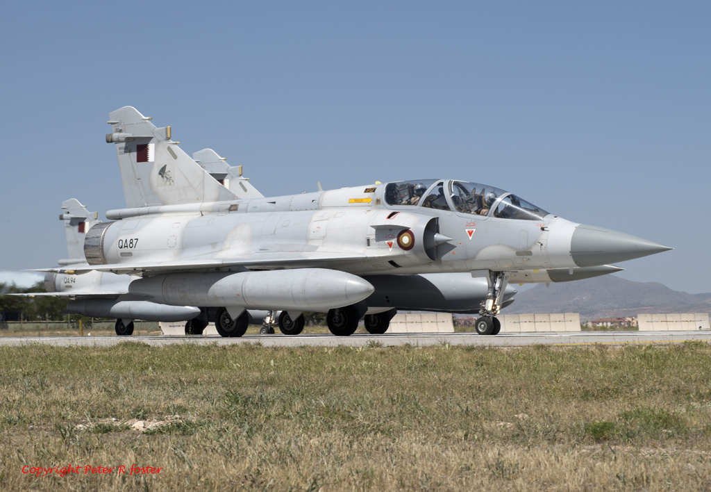 Dassault Mirage 2000 5 Qa87 Qatar Air Force 20 06 14 Flickr