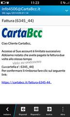 carta bcc truffa