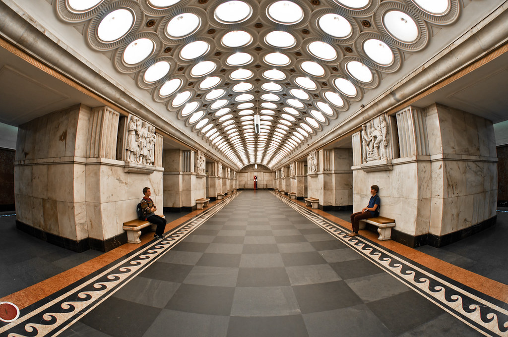 elektrozavodskaya metro station  moscow