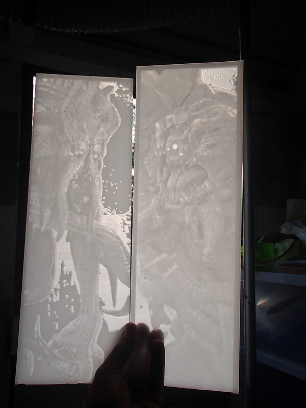 Monster Lithophane Panels