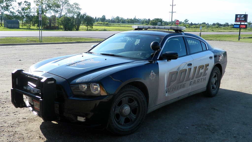 2013 Dodge Charger White Earth Nation Police Department