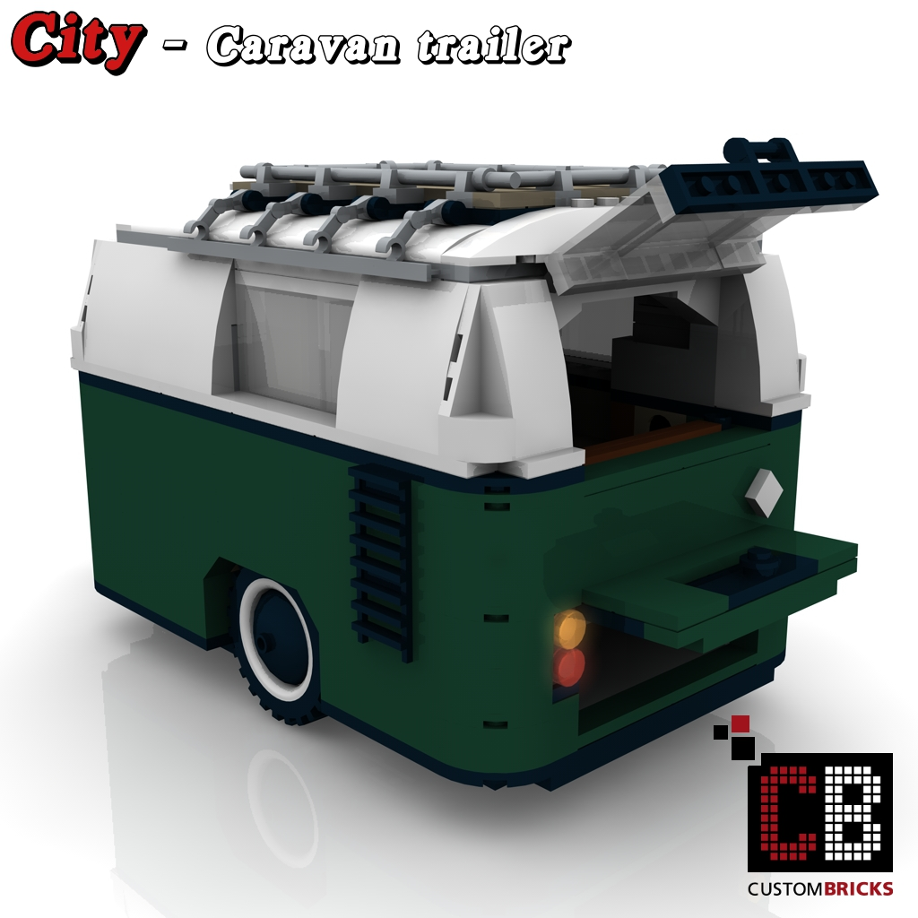 lego custom mini cooper wohnwagen trailer 10242 cb2 flickr. Black Bedroom Furniture Sets. Home Design Ideas