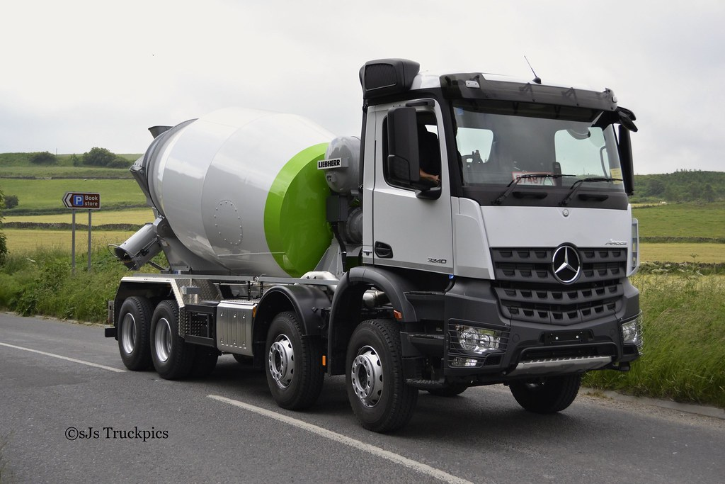Unregistered Mercedes Arocs Mixer | Flickr - Photo Sharing!