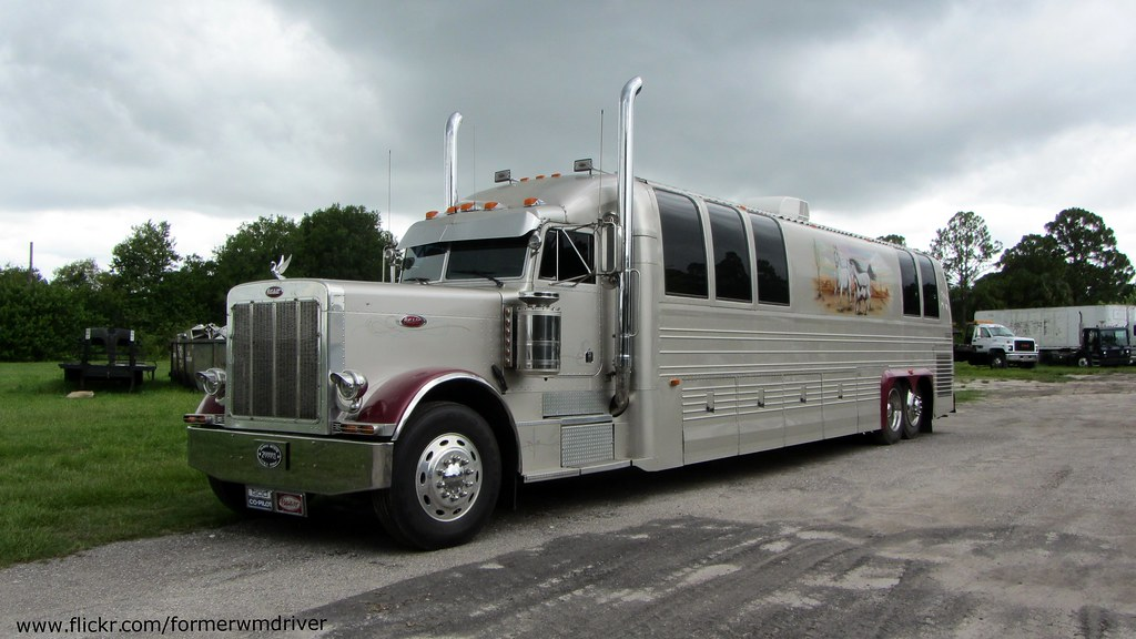 Peterbilt prevost motorcoach if you want to use this for Million dollar motor coaches