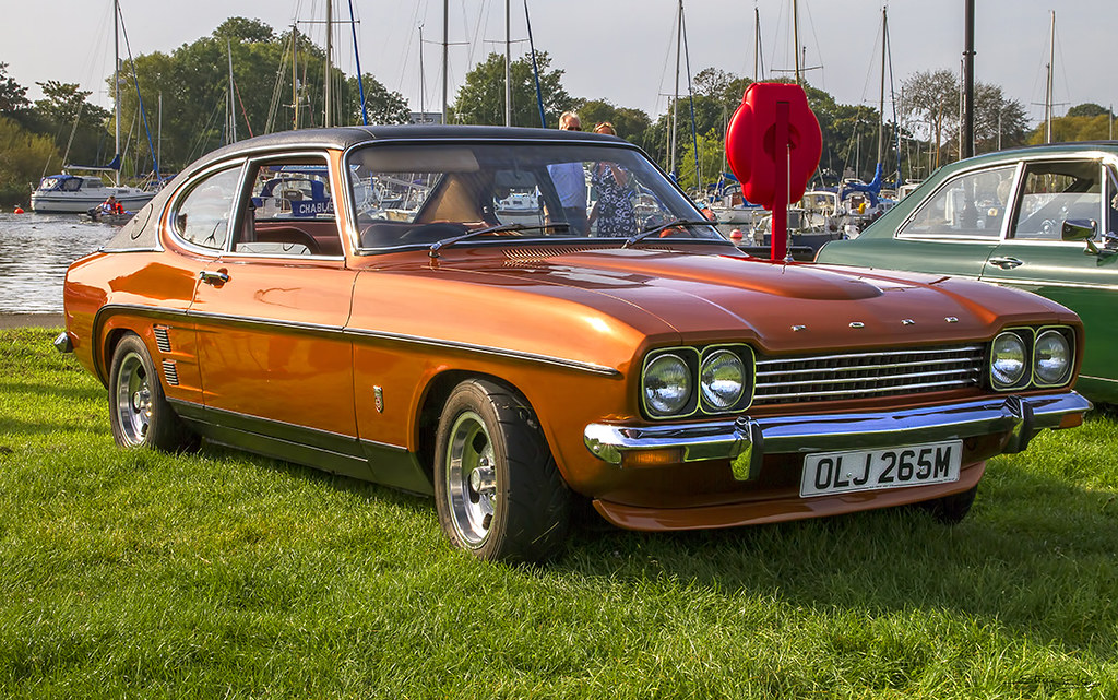 Ford Capri | Tractor & Construction Plant Wiki | Fandom powered by ...