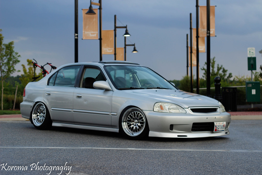 & Slammed civic 3 door | While getting pics of the sunset I tu2026 | Flickr pezcame.com