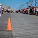 coney island boardwalk on mermaid parade day
