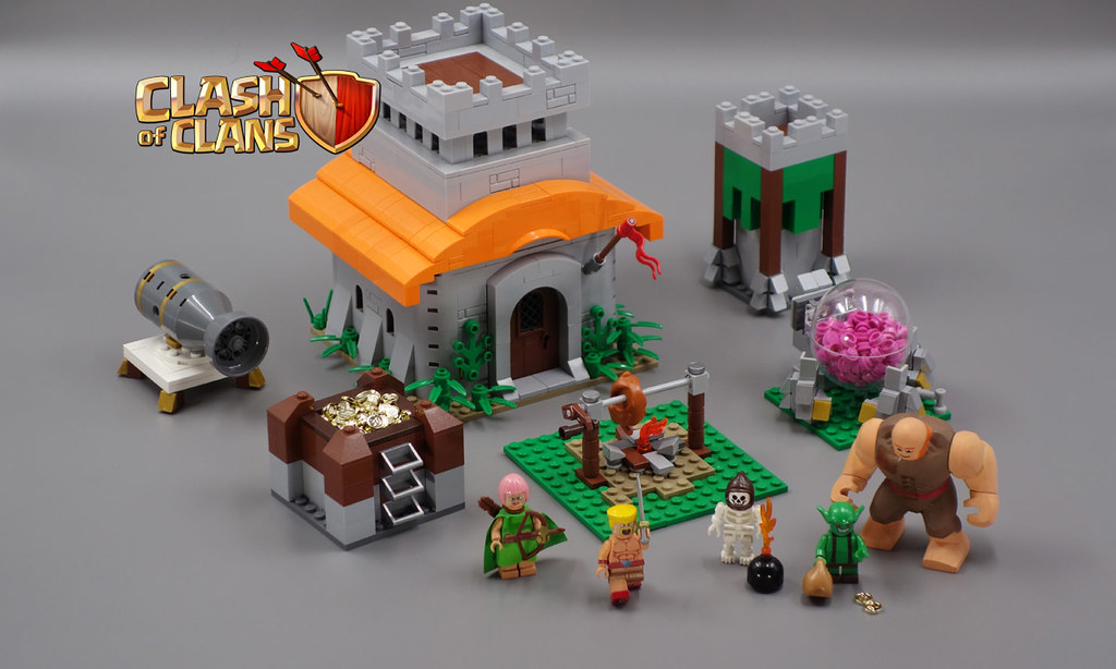 lego clash of clans this set is submitted to lego ideas i flickr. Black Bedroom Furniture Sets. Home Design Ideas