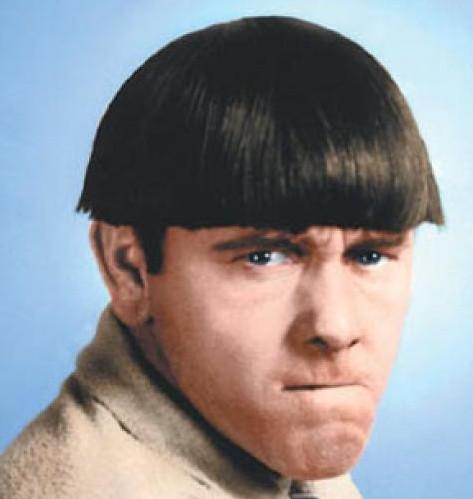 Причёска под горшок фото
