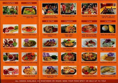 Brochure Thai Kitchen Cookery Centre Chiang Mai Thailand 2