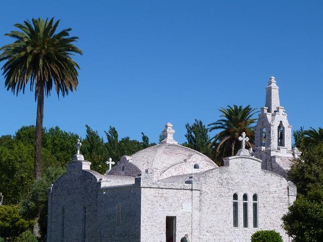Capela de San Sebastián en la isla de La Toja