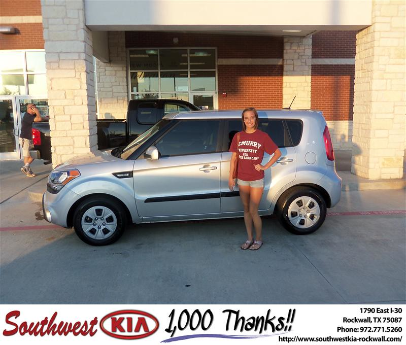 Happyanniversary To Monica Somers On Your 2013 Kia Soul