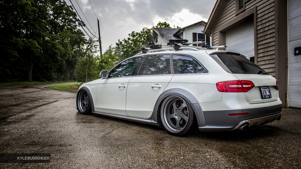 Right Side Of The Car S Bagged Audi Allroad Owner Of