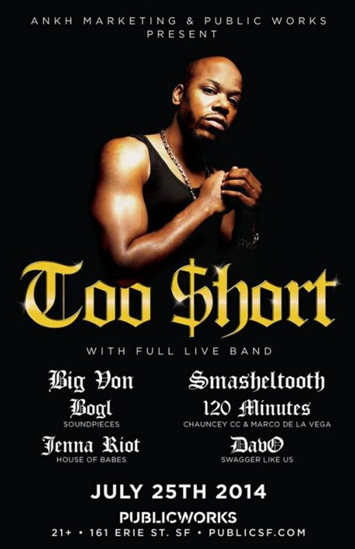 Too Short @ Public Works