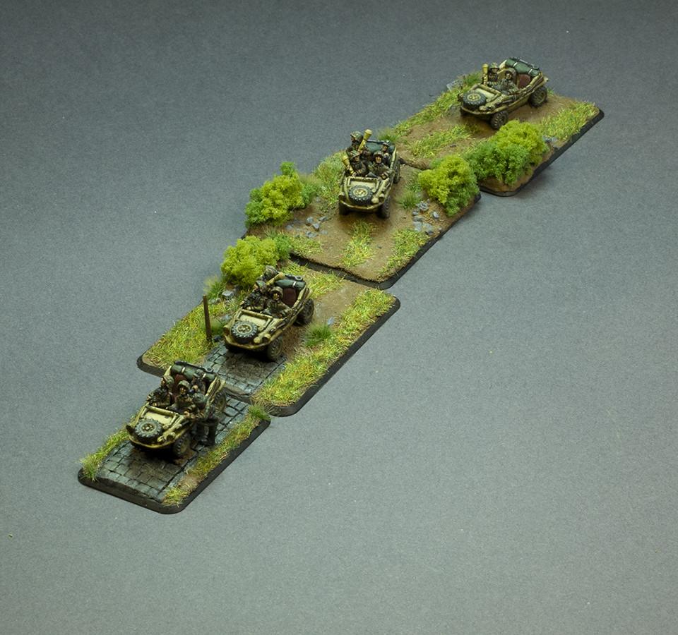 Flames of war Panzer Scout Platoon Schwimmwägen