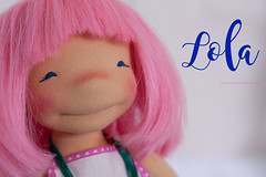 Lola - 14 inch Natural Fiber Art doll by Down Under Waldorfs