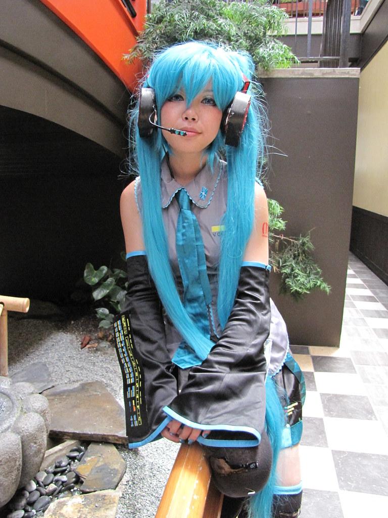 Anime Girl Cosplay with Blue Hair | shaireproductions.com ...