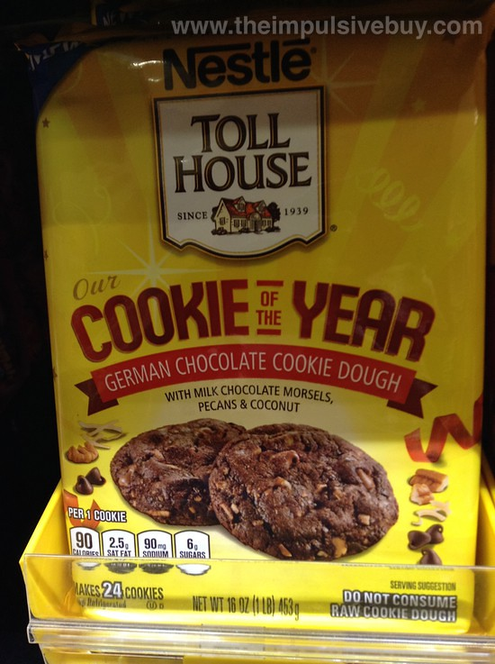 Toll House Chocolate Chip Cookies With Oatmeal