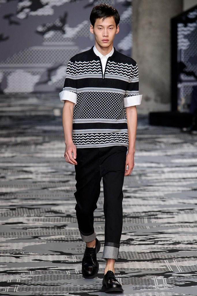 SS16 Milan Neil Barrett006_Wang Chen Ming(fashionising.com)