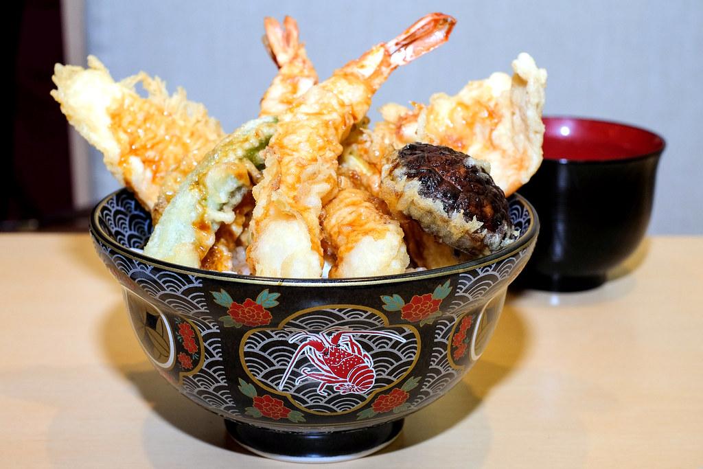 Ginza Tendon Itsuki's Tempura Rice Bowl