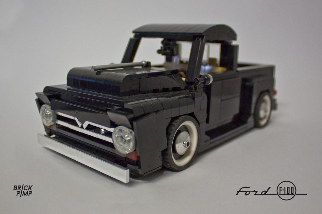 Build A Ford Truck >> LEGO FORD F-100 (50s) - 1:18 - custom car   LEGO® Ideas: ide…   Flickr
