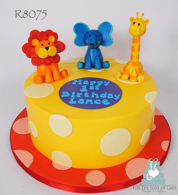1st Birthday Cake Cartoon Images : R8075-cartoon-safari-1st-birthday-cake-toronto Flickr ...