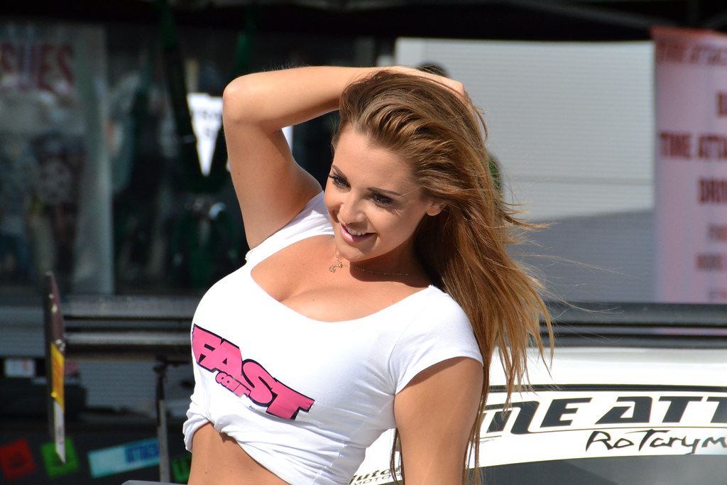 daisy watts glamour girl working for fast car magazine dur flickr