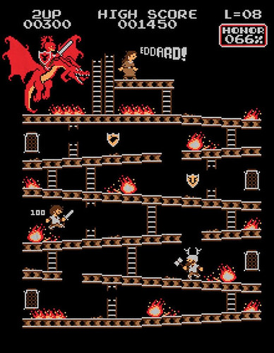 Donkey Kong mash-ups by BazNet - Game of Thrones
