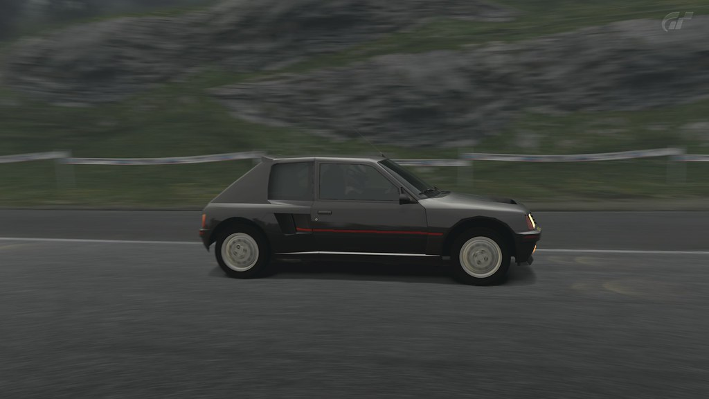 peugeot 205 turbo 16 s rie 200 gran turismo 5 bullerouge flickr. Black Bedroom Furniture Sets. Home Design Ideas