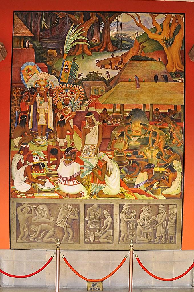 19 murales de diego rivera la cultura zapoteca la for Murales de fotos para pared