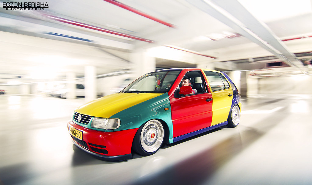 Volkswagen Polo Harlekin Egzon Berisha Flickr