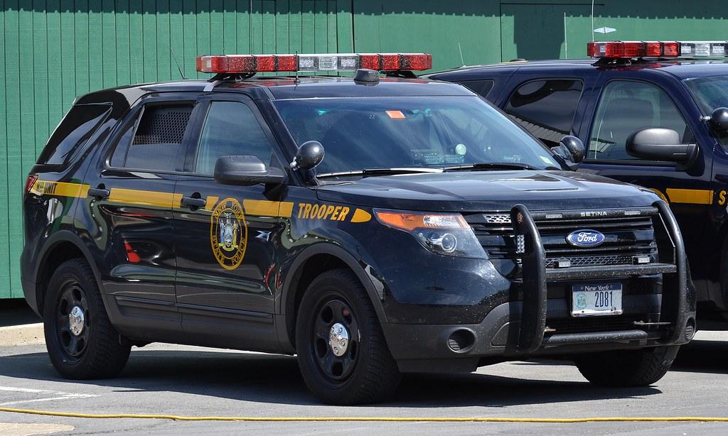 Police Car New York Ford Police Interceptor