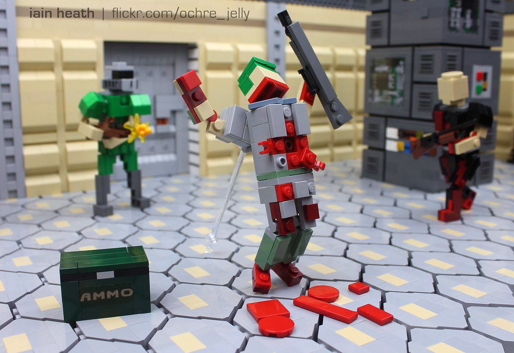 Lego Doom Former Human Is Former Again Before Halo
