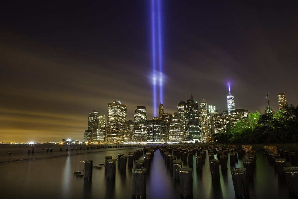 The September 11th Memorial Tribute In Light 2014 New York