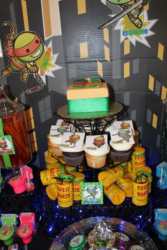 Ninja Turtles Candy Table N 683x1024 Teenage Mutant