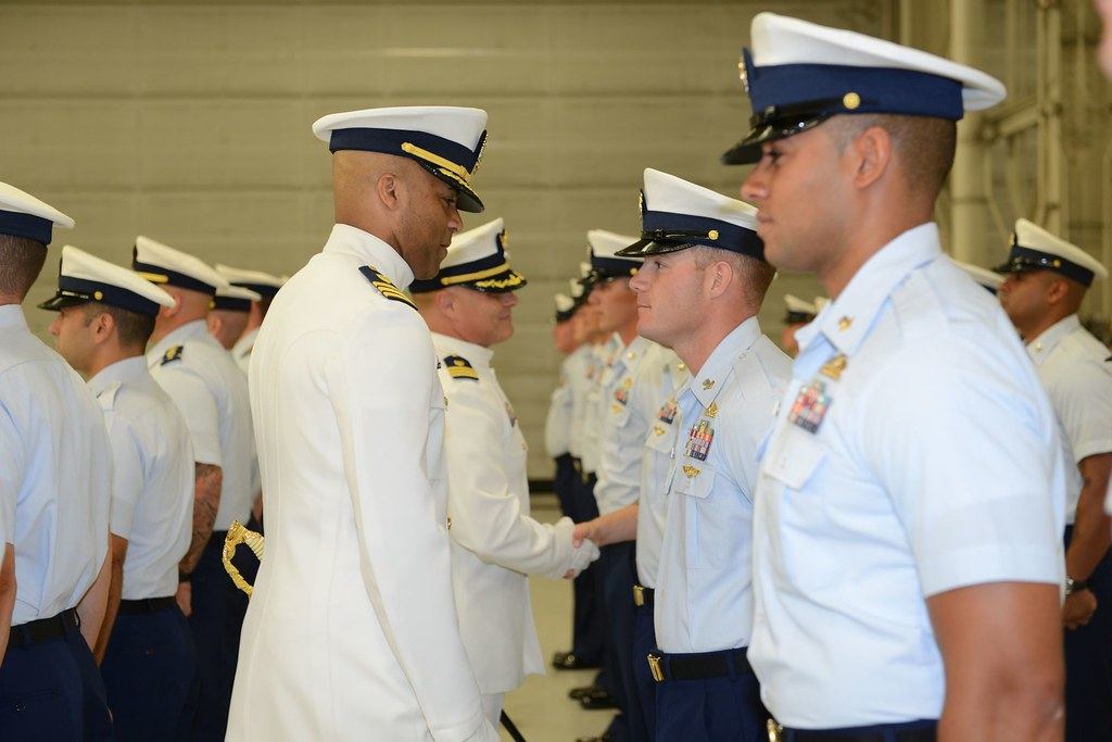 coast guard taclet south change of command