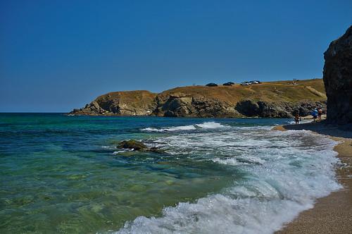 Пляж Коса. Синеморец. Sinemorets. Bulgaria.