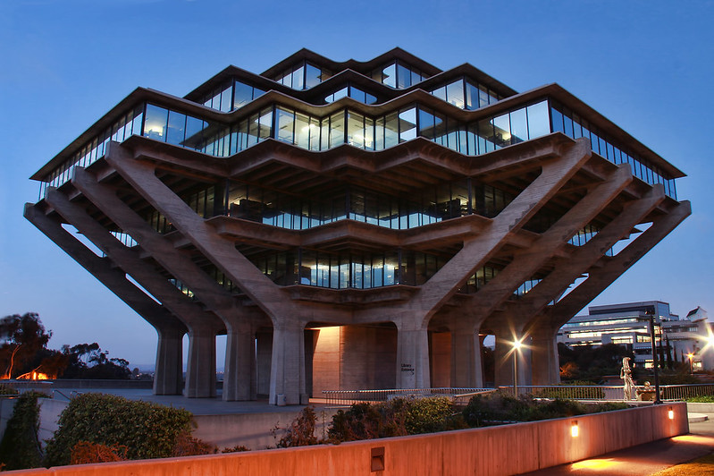 Geisel Library University of California San Diego Architecture
