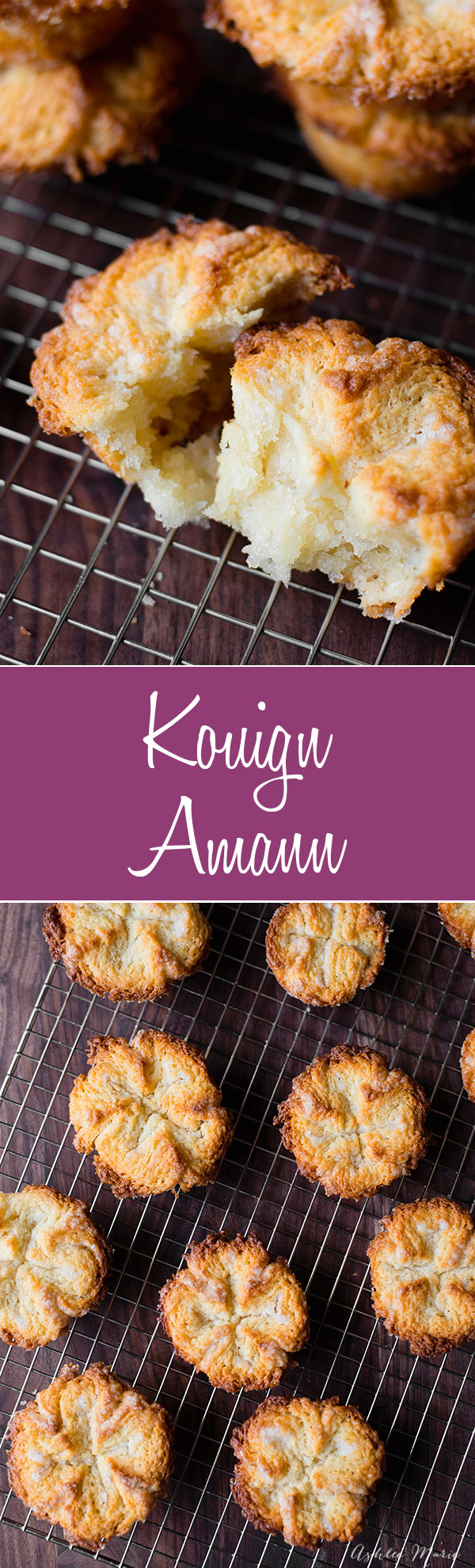 It doesn't get much better than layers of dough and butter, add some sugar and you will die with how good these kouign amanns are! Flaky, sweet with a crunchy outside and a soft center. full recipe and video tutorial