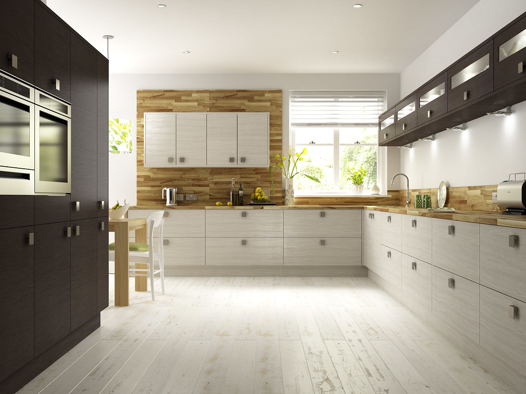 White Oak Kitchen And Cockatials