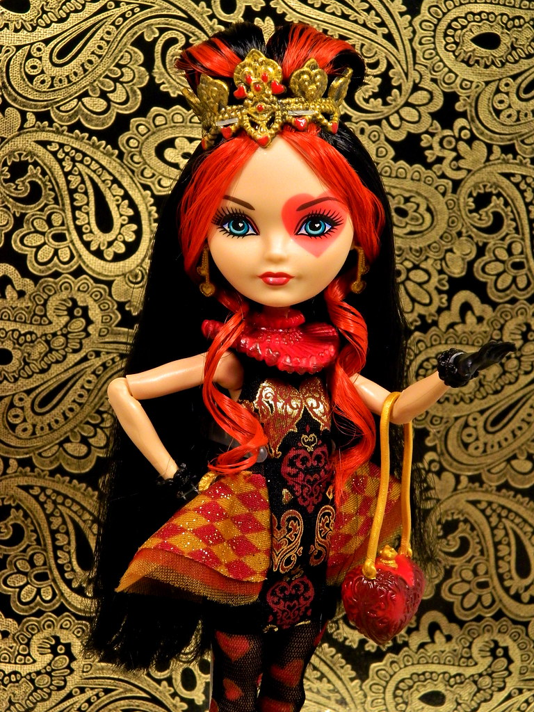 Free coloring pages ever after high - Lizzie Hearts I Can T Believe I Found Her Check Your