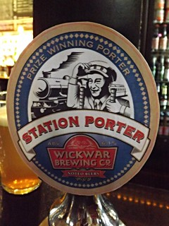 Wickwar, Station Porter, England