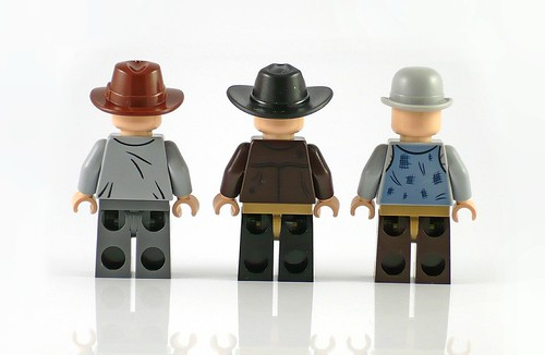 LEGO The Lone Ranger 79109 Colby City Showdown figures03