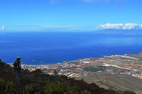 La Gomera from Roque del Conde, Tenerife