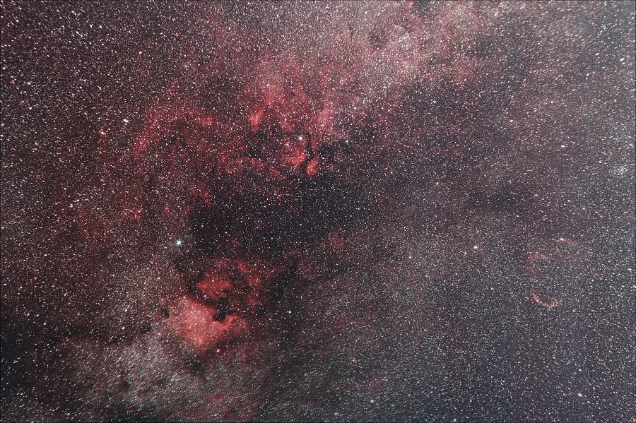 Cygnus - Milky Way & Nebulae | Among the nebulae visible ...