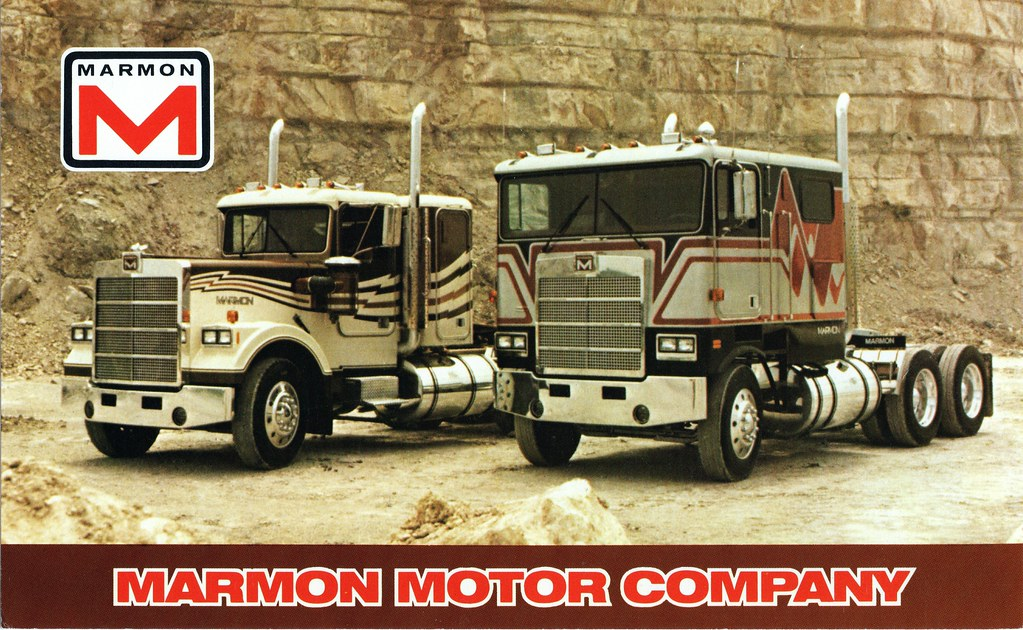 Marmon Conventional And C O E Trucks Marmon Motor