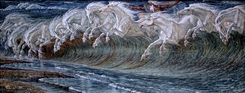 IMG_0716 Walter Crane. 1845-1915. Les chevaux de Neptune ...