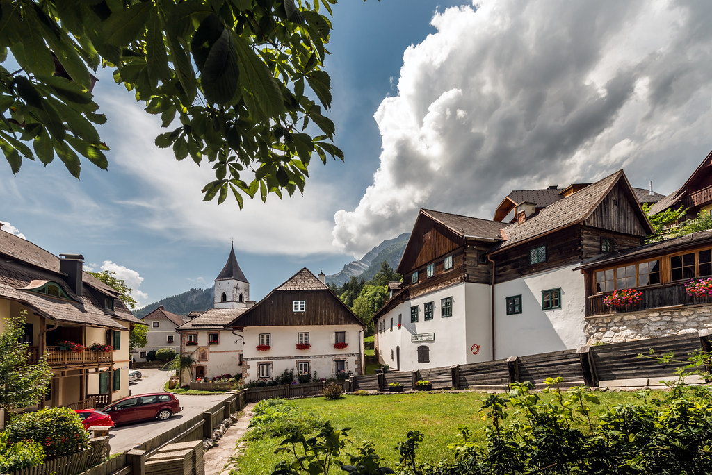 The Village Of P 252 Rgg In Styria Austria P 252 Rgg Is A